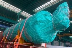日本液空储罐项目首批交货