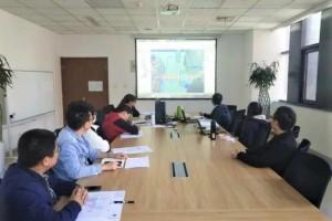 宝钢气体云南曲靖空分项目完成60%模型审查