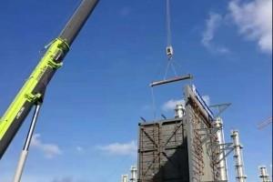 斯尔邦二期丙烷项目空分空压装置安装开工