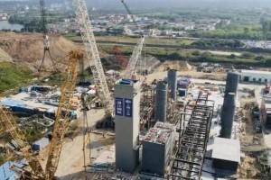 湛江钢铁三高炉制氧项目冷箱吊装工作圆满完成