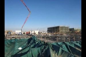 50万吨煤基乙醇项目空分装置完成土建任务