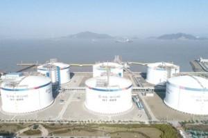 浙江LNG二期工程项目建成投用