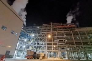 榆能化甲醇合成气压缩机联动试车成功
