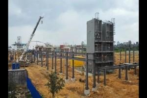 衢州杭氧稀有气体项目施工有序推进